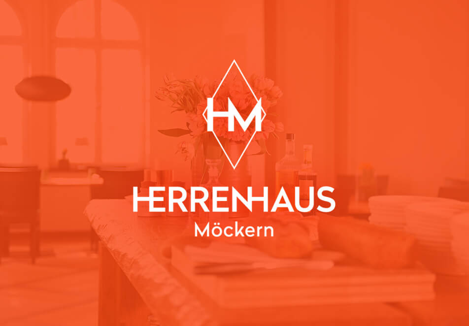 Herrenhaus Möckern, Corporate Design, Corporate Identity, Webdesign, Logo