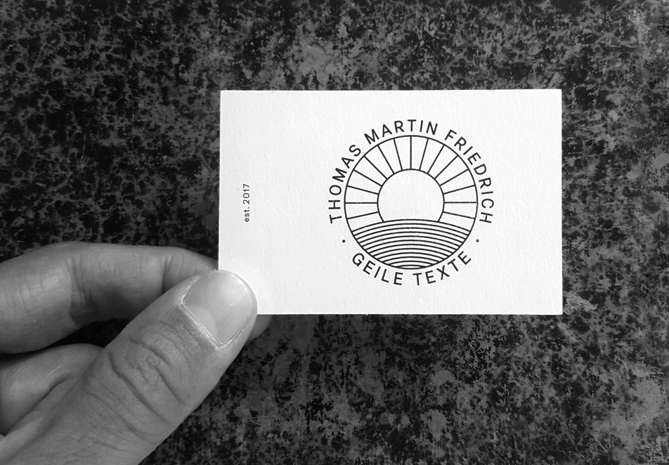 Thomas Martin Friedrich, Corporate Design, Webdesign, Logo
