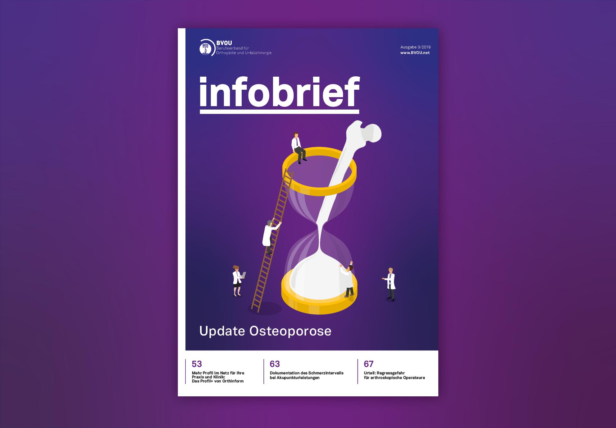 Berufsverband für Orthopädie und Unfallchirurgie e.V., Print, Editorial Design, Typografie