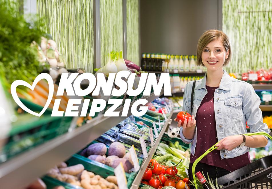 Konsum Leipzig eG, Corporate Design, Corporate Identity, Logo, Fotoshooting